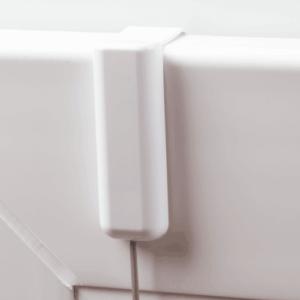 Hier sollte das Bild eines montierten Plissee-Point Fix erscheinen.