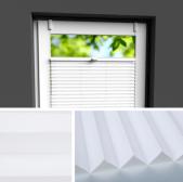 Fensterrollo weiß