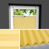 Fensterrollo gelb