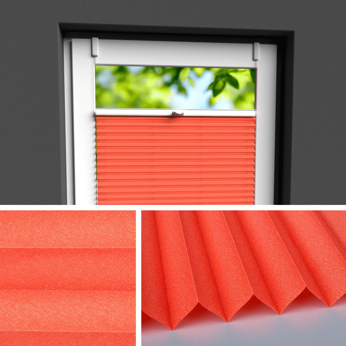 Fensterrollo rot