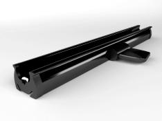 Cosiflor Schienenfarbe schwarz