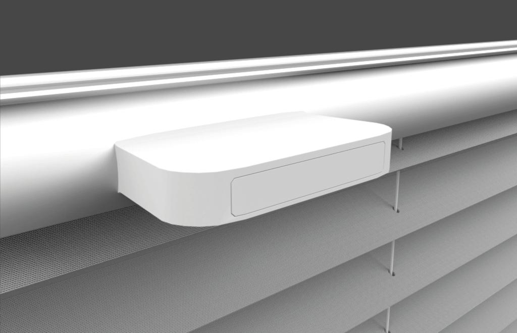 plissee griffe finest klebetrger in wei fr plissee ohne. Black Bedroom Furniture Sets. Home Design Ideas