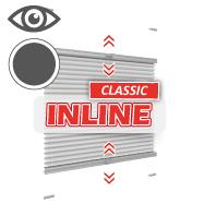 Inline Plissee Klemmfix