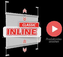 Produktvideo Plissee Inline