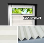 Fensterrollo beige verdunkelnd