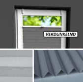Fensterrollo grau verdunkelnd